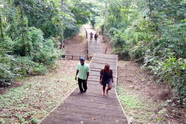 tourist site at Kwahu South