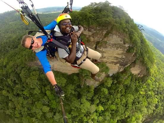Paragliding site