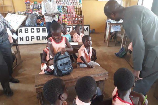 DCE visits school children